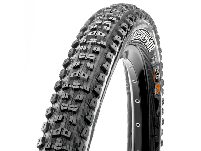 "Maxxis Aggressor Folding Tyre 29x2.30"" EXO TR black"